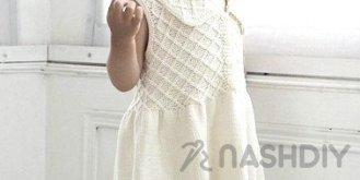 8ec8dfa7cdc184d Платье для девочки. Спицами